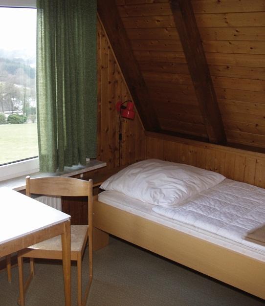 Zimmer im Schlafhaus